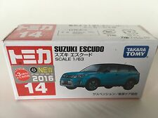 TOMICA #14 Suzuki Escudo (1/63) BRAND NEW & SEALED
