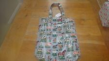 CATH KIDSTON HOME FARM BOOK BAG. NEW WITH TAG. OIL CLOTH