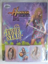 DISNEY Hannah Montana the Movie Panini Complete 144 Stickers Collection + Album
