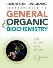 Introduction to General, Organic, and Biochemistry, Student Solutions -ExLibrary