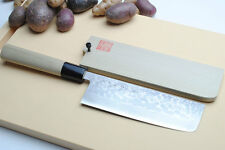 """VG-10 Stainless Steel 16 Layers Damascus Nakiri 6.5"""" Vegetable Knife YOSHIHIRO"""