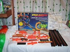 Vintage 1978 Mego Speed Burners Stunt Set Looks Complete W Car Great Condition