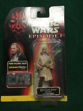 Star Wars Episode I Jedi Qui-Gon Jinn Comm Tech Chip MOC 3 3/4""