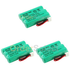 3 Cordless Home Phone Rechargeable Battery 350mAh NiCd for Sanik 3SN-AAA55H-S-J1