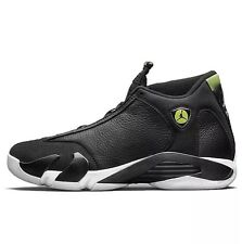 NEW NIKE AIR JORDAN 14 XIV RETRO SZ 11 INDIGLO BLACK WHITE GREEN (487471-005)