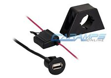 NEW AXXESS USB PANEL/DASH MOUNT 2.1 AMP USB CHARGING / EXTENSION JACK CABLE