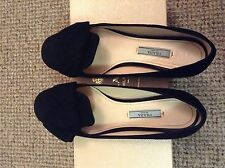 100% Authentic PRADA Suede Flat Shoes rap £390