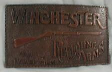 Winchester Repeating Arms Belt Buckle Hong Kong Copper