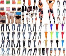 WHOLESALE Lot 20 Pcs WOMEN Mixed Jeans Legging Pants Shorts Skirts Apparel S M L