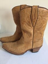Sendra Handcrafted Cowgirl Boots  8 1/2    $299  Made In Spain