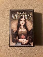 Tarot Cards-The Tarot of Vampires by Ian Daniels - 78 cards with 312 page book