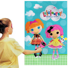 LALALOOPSY PARTY GAME POSTER ~ Birthday Supplies Plastic Decorations Bea Crumbs