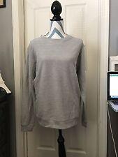 NWT• Zara Men Pullover Gray Sweater Size L