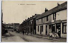 Bruay, Pas de Calais, France CPA Postcard - Rue du Chateau / Town View