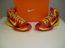 New Nike Hyperdunk 2010 MS China Edition Sport Red Yellow Black Maize size 10