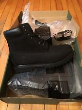 "New ""Grade B"" Men's Timberland Black Boots Size 10"