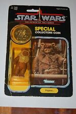 Paploo-Star Wars-POTF Power of the Force-MOC-Vintage-Coin-Ewoks