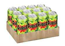 New SURGE soda, 12 ct, 16 FL OZ Cans case Pack of 12 Citrus flavored soft drink