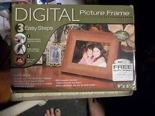 "Smartparts OptiPix 7"" Digital Picture Frame New In Box!"