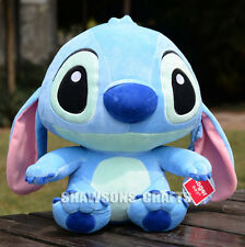 "DISNEY LILO & STITCH PLUSH STUFFED TOYS 9"" STITCH SOFT DOLL ORIGINAL"