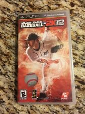 Sony PSP Major League Baseball 2K12 (Complete) Last MLB Made On PSP