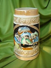 Cowboy Ceramic Stein for beer, VG Condition