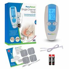 AccuRelief Single Channel TENS Electrotherapy Joint Back Pain Relief System OTC