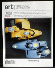 Art press 204 : Matthew Barney, Otto Muehl (par Michel Onfray), Georges Bataille