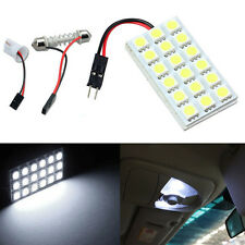 12V 18 SMD 5050 LED T10 BA9S Dome Festoon Car Interior Light Panel Lamp N