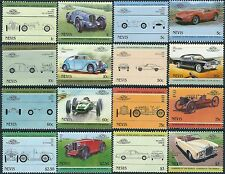 e113) Nevis. MNH. 1985. Small Collection of Automobiles 3rd Series