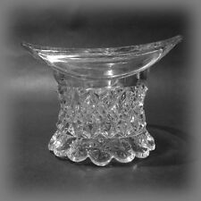 EAPG Riverside Glass National Clear Hat Toothpick Holder a.k.a. Petticoat