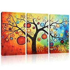 Abstract Large Colorful Tree Canvas Print Wall Art Painting Picture NO frame