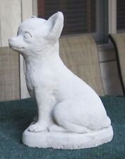 CONCRETE CHIHUAHUA STATUE OR USE AS A MONUMENT