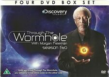 THROUGH THE WORMHOLE SEASON TWO WITH MORGAN FREEMAN DISCOVERY CHANNEL SERIES 2