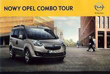 Opel Combo Tour 02 / 2012 catalogue brochure polonais