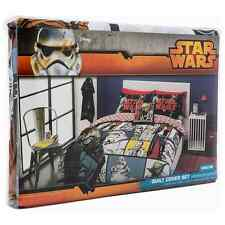 SPACE STAR WARS DOUBLE FULL bed QUILT DOONA DUVET COVER SET NEW Licensed