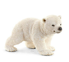 Schleich 14708 Polar Bear Cub Walking Model Toy Figurine - NIP