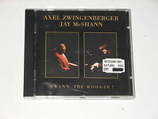 Axel Zwingenberger & Jay McShann - SIGNED CD - Swing The Boogie - AUTOGRAMM