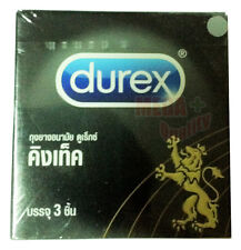 Durex Kingtex Smooth Condom Size with Lubricated 49mm. (Small Size)