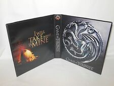 Custom Made Game of Thrones Trading Card Album Binder