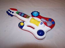 Chicco Toys DJ Guitar Music Sounds Lights Learning 3 Music Styles 3 Modes 12 mo+