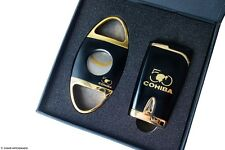 Limited Edition Cohiba 50th Anniversary Torch Lighter & Cutter Set