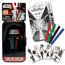 KYLO REN the FORCE AWAKENS star wars FUN on the GO fun ACTIVITY play SET