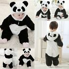 Baby Boy Girl WINTER Birthday Panda Fancy Party Costume Outfit Gift Cloth 6M-3T