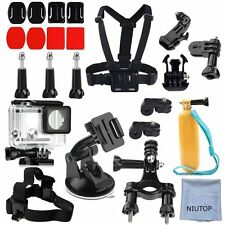 NIUTOP Xiaomi Yi 2/4K Accessories Kit Set of 23 Camera Securely to Cars Strength