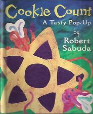 Fine 1997 First Edition Pop UP Hardcover Robert Sabuda Classic Cookie Count