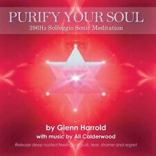 396hz Solfeggio Meditation. by Glenn Harrold Compact Disc Book