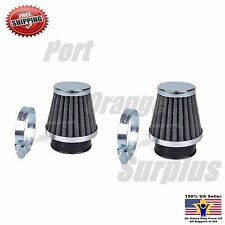 2 Pack of 42mm Air Filter For GY6 125cc 150cc Scooter Moped ATV Quad Go Kart