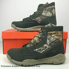 NIKE SFB 6 RT QS MENS CAMOUFLAGE 6 INCH MENS BOOTS REALTREE SHOES UK 10 RRP £110