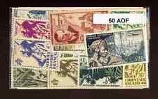 Afrique Occidentale Française - AOF 50 timbres différents